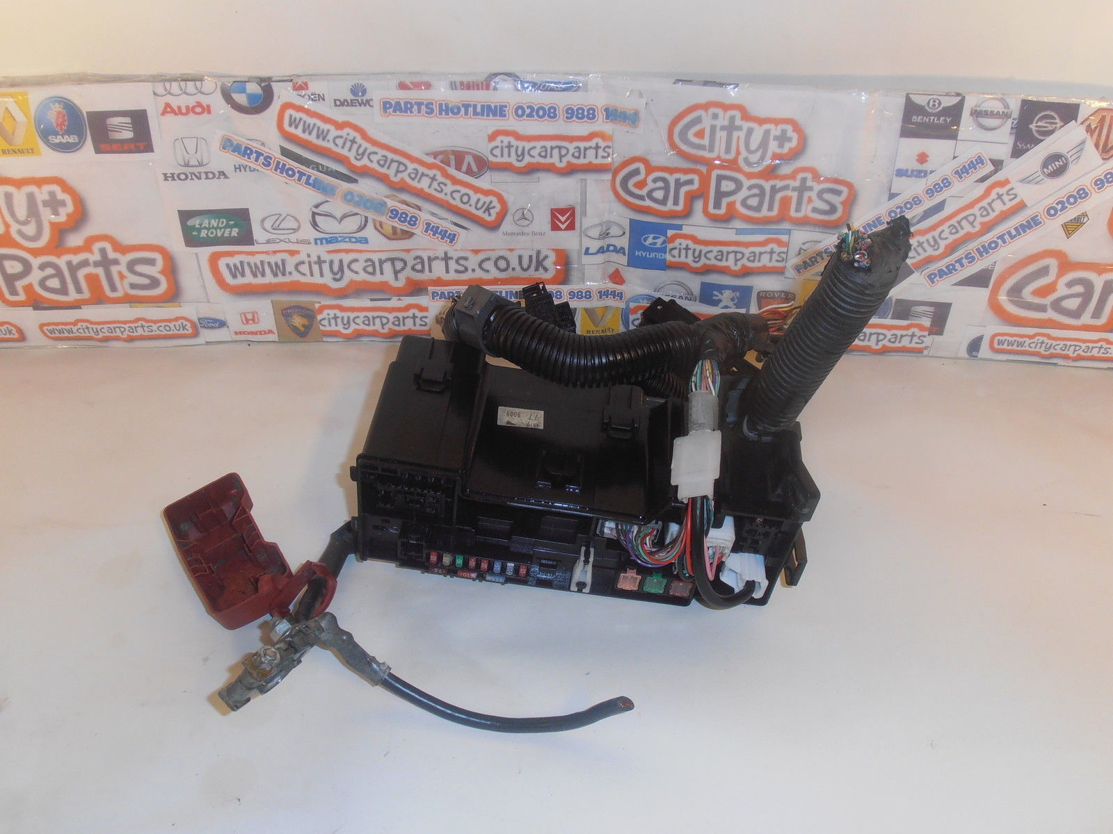 CITROEN C1 TOYOTA AYGO PEUGEOT 107 MODELS FROM 2005 TO 2014 ENGINE BAY FUSE  BOX